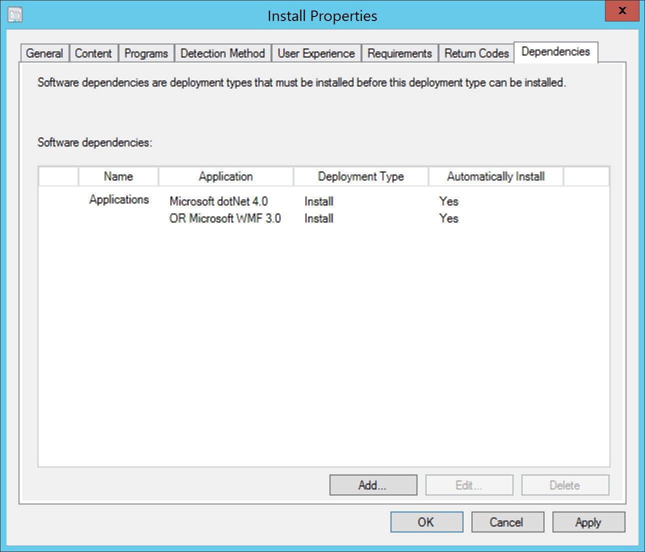 Deploying the App-V 5 0 Client Using Configuration Manager