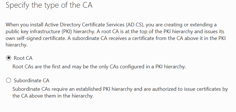 Configure Two Tier Pki Hierarchya Guide To Microsoft Products