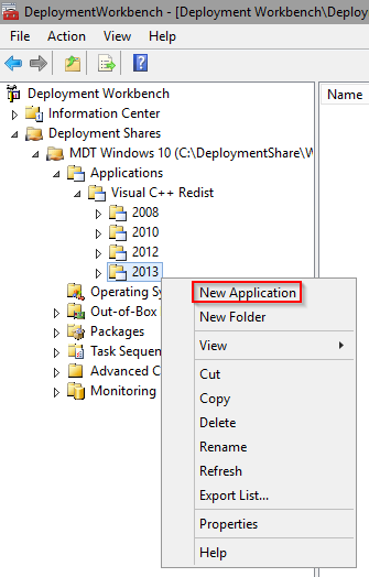 MDT Applications